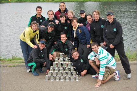 Haul of pots from Peterborough Spring Regatta