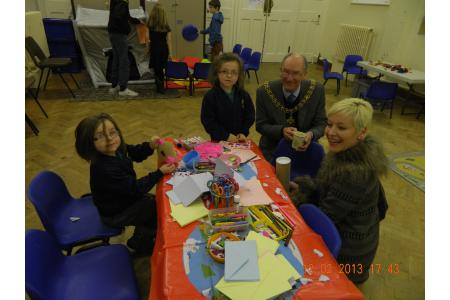 Lord Mayor visits group