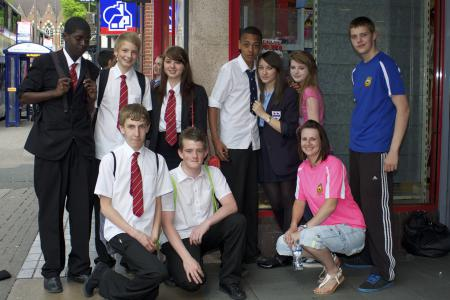 Engaging and supporting local young people