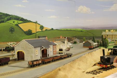 Model Railway featuring 1935 Dulverton Station