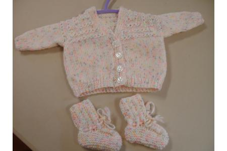 One of our many baby items, see our facebook page
