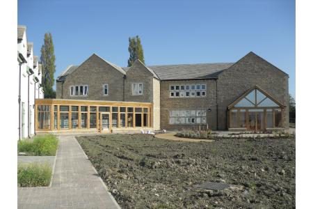 The newly built Hospice
