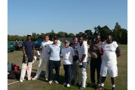 The Police and Communites Cricket tourmament