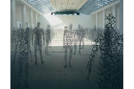 Anthony Gormley Domain Field
