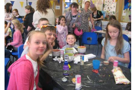 Crafts at 2011 Spring Fayre