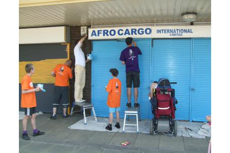Volunteers helping to brighten up Slough