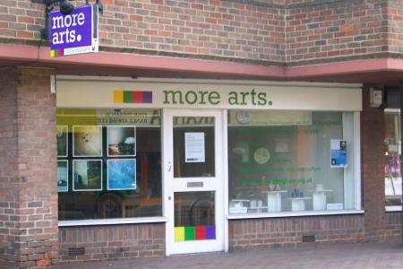 More Arts 'Empty Shop'
