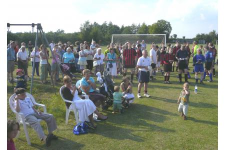 All-age enthusiasm for football in Bridgham