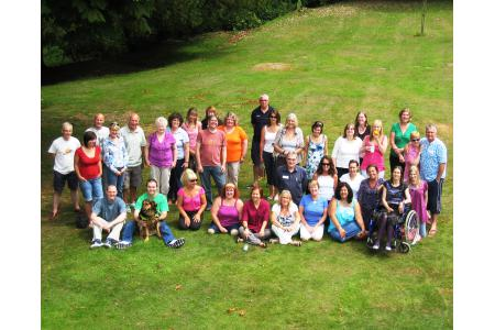 Volunteers' residential training weekend