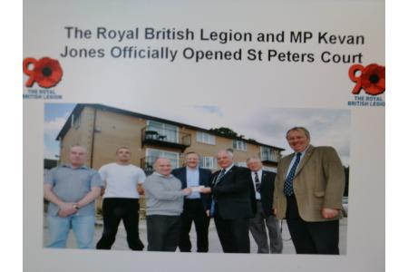 St Peter's Court Supported Accommodation for Ex-Service Personnel