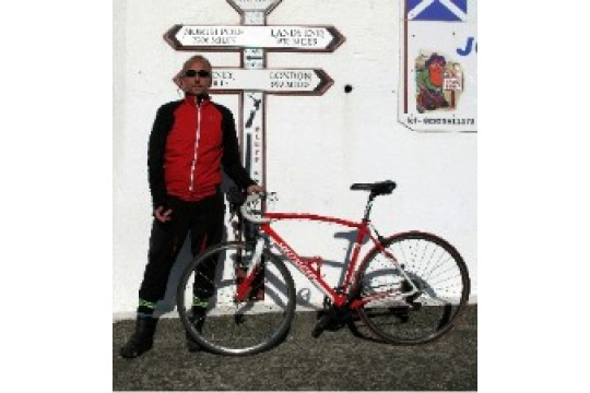 Alan Coles' 24-hour Newcastle to London Cycle Challenge