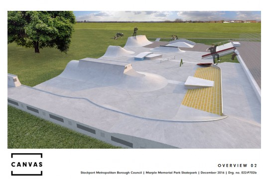 Marple Skatepark Project Appeal