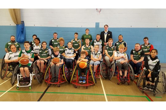 Thames Valley Kings Wheelchair Basketball Club