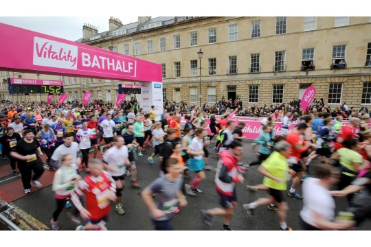 Bath Area Play Project - Bath Half Marathon 2018