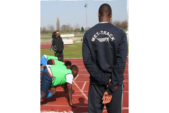 British Athletics Charitable Trust - Met-Track