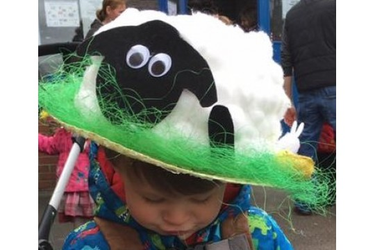 2018 Broughton Pre-School Playgroup Easter Bonnet Parade