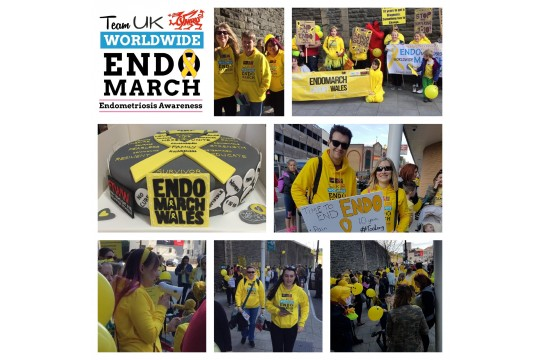 EndoMarch Wales 2018