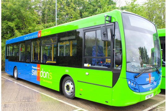 Transport Fund in partnership with Swindon's Bus Company
