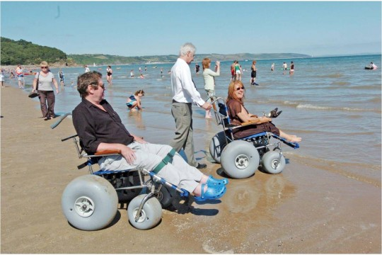 Help us increase beach wheelchair availability in Pembrokeshire