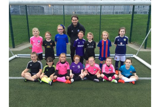 Glasgow Girls Football Club picture 2