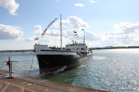 Solent Steam Packet SS Shieldhall