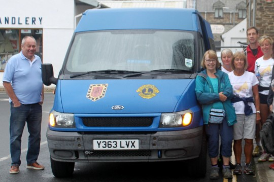 Lions Club of Looe Minibus Appeal