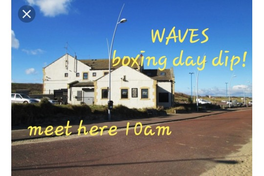 WAVES Boxing Day Dip