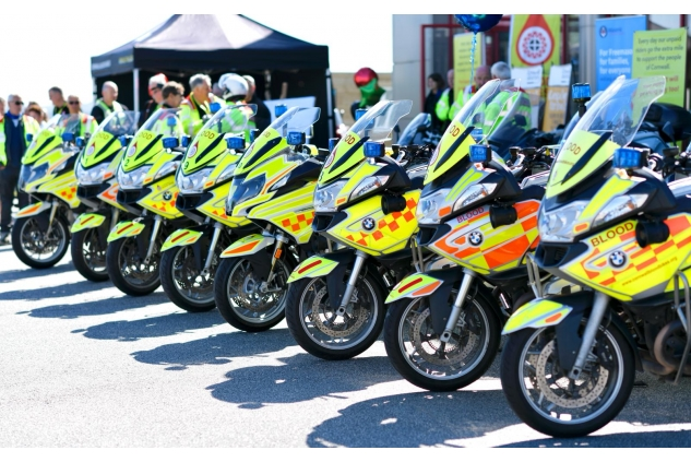 Cornwall Blood Bikes picture 2