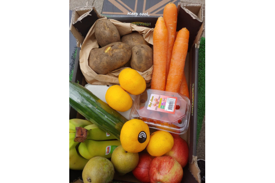 Weekly Fruit & veg boxes for vulnerable families & individuals in IP3 area