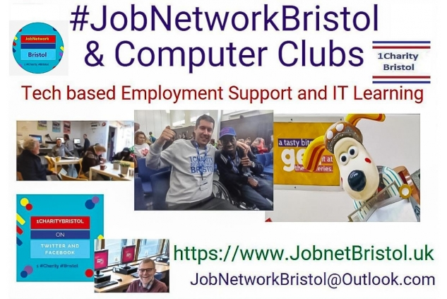 Jobnetworkbristol Community Interest Company    &ComputerClubs