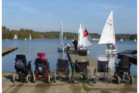 Frensham Pond Sailability picture 2