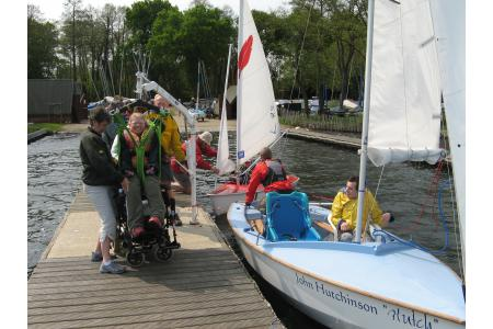 Frensham Pond Sailability