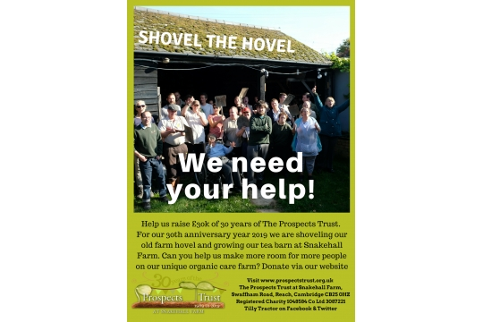 £30k for 30 Years of The Prospects Trust - Shovel our Hovel Part1