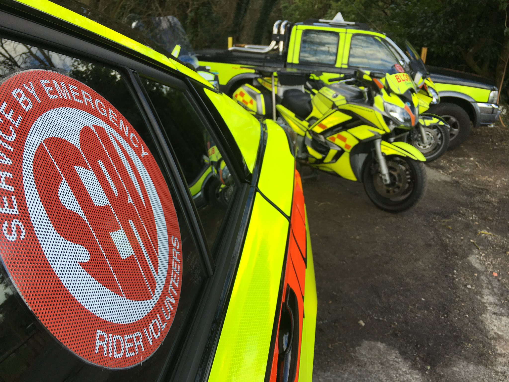Service by Emergency Rider Volunteers (SERV) Sussex