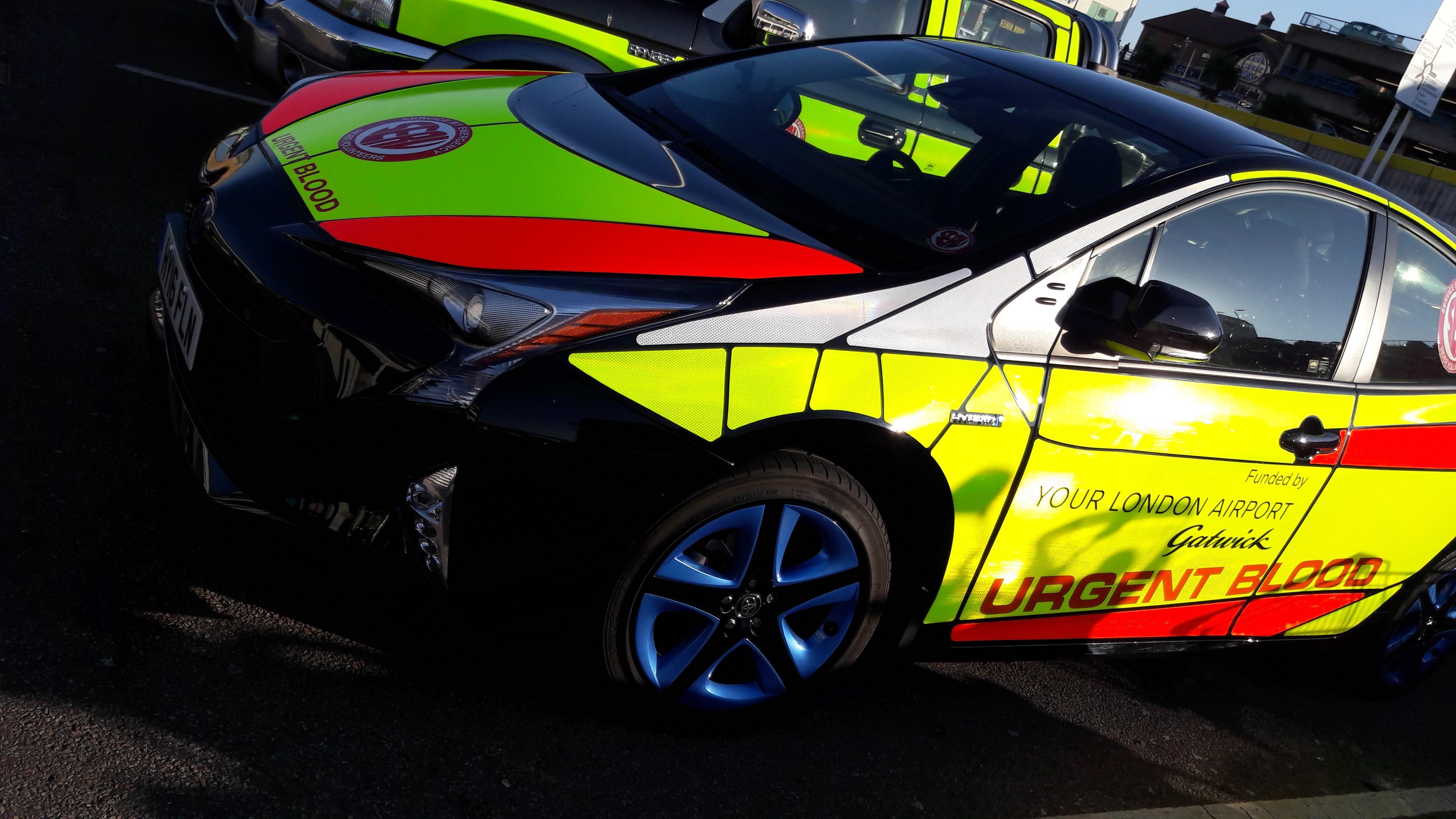 Service by Emergency Rider Volunteers (SERV) Sussex
