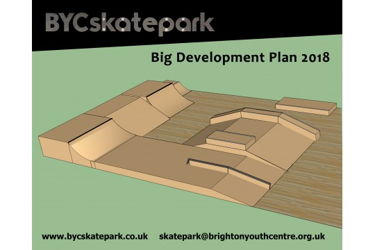BYC Skatepark Big Development Plan 2018